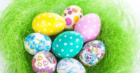 Praca plastyczna - stemplowane jajko